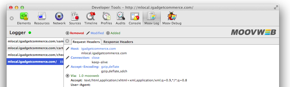 Moovweb Toolkit Headers